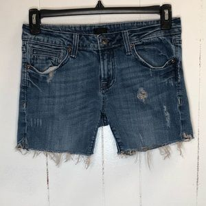 Anoname Denim Cut-Off Shorts Size 28 Rise 8